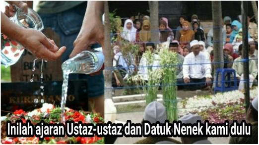 Siram air tabur bunga talqin tahlil-picsay