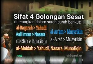 Empat golongan sesat tafsir Quran